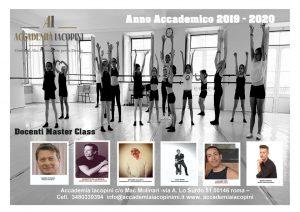 Accademia Iacopini Masterclass 2019-2020