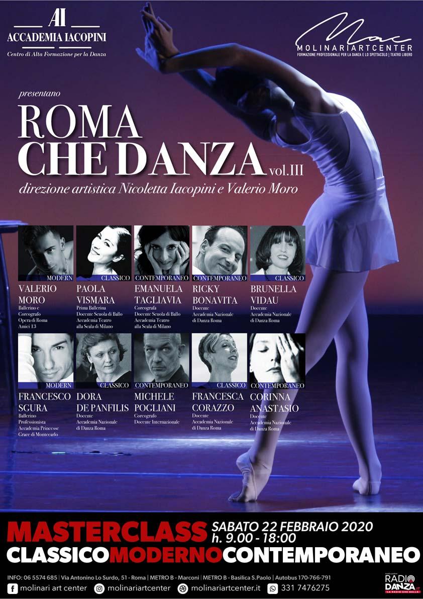Locandina dell'evento Roma che danza – vol. III